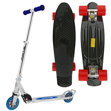 Roller,Skate board & Scooters