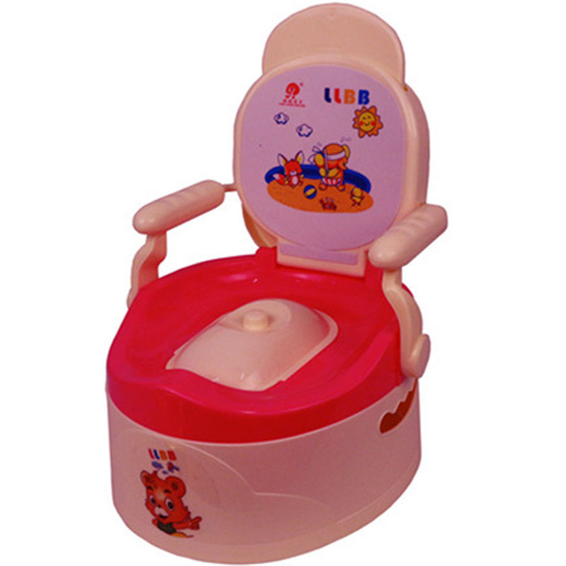 Hot Sale Baby Boys Girls Potty Training Toilet Seat for Children Kids Plastic Non-slip Portable Travel Chair Pee Trainer Potties