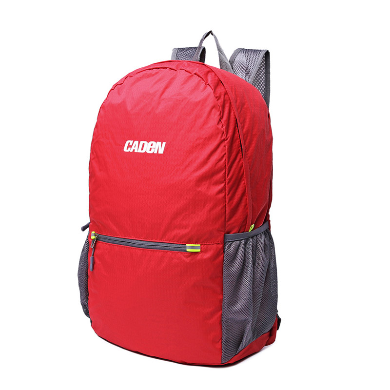 Caden 2016 new Korean style backpack Nylon water-proof bag for travel sport casual backpack