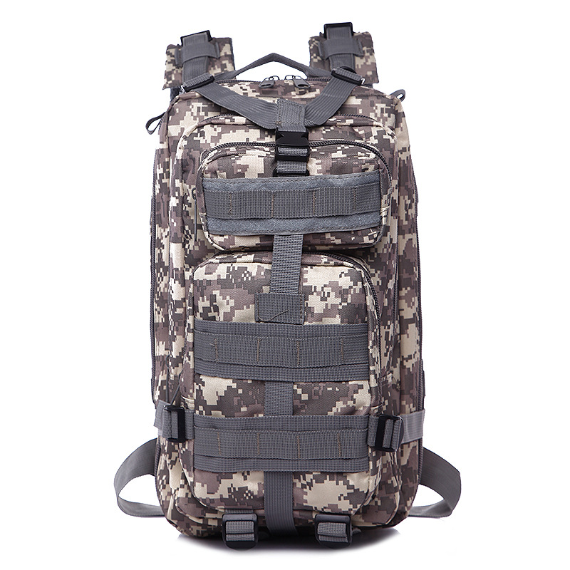 High Quality Men's Climbing Bags Canvas Backpack  Men Travel Bag DL-B002A