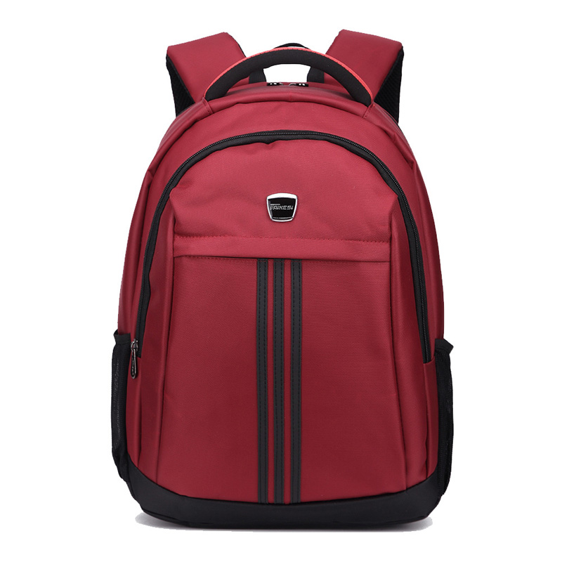Unique 16 Inch Laptop School Backpack Waterproof Nylon Men Computer Bag 1614