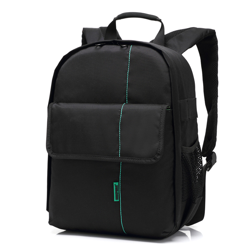 Fashion Nylon Dslr Digital Camera Backpack Waterproof Photo Video Bag DL-B013