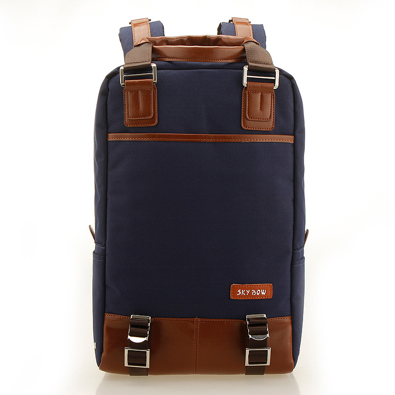 New Arrival 16 Inch Laptop Bag Nylon High Quality Waterproof Schoolabag 5375