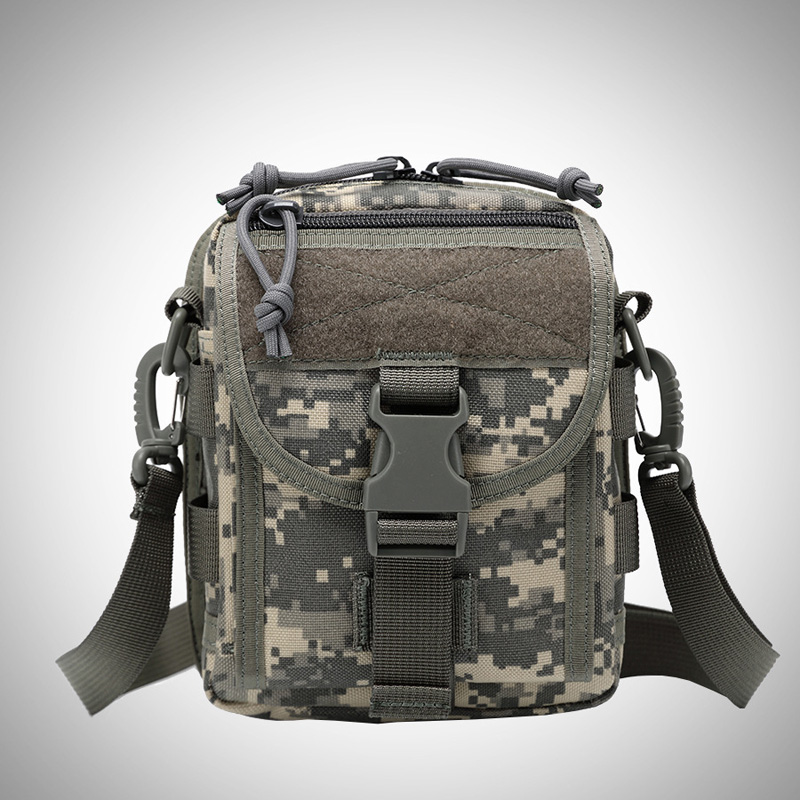Military Waist Bags Molle Flap Messenger Bag Men Nylon Waterproof Army Climbing Bag