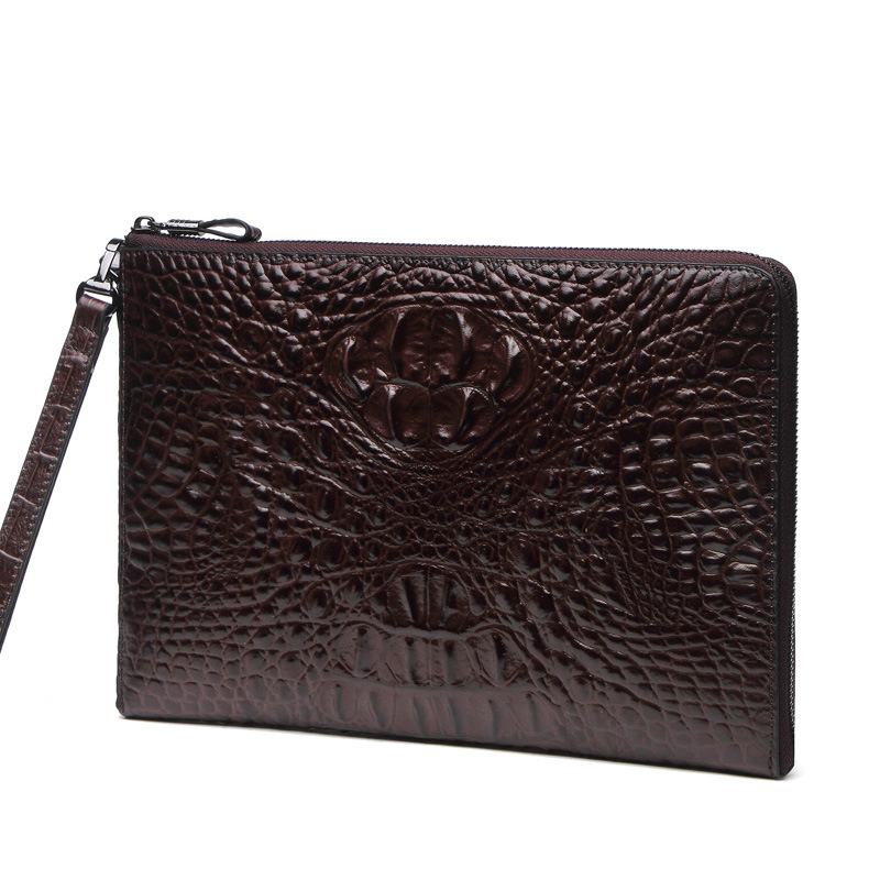 Hot Sale Fashion Men Wallet Luxury Clutch Male Genuine Leather Long Card Holder Business Bag