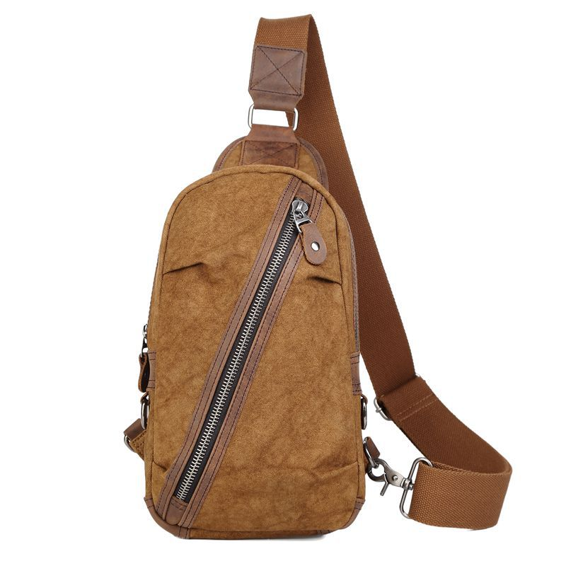 New Fashion Man Shoulder Bag Men Canvas Messenger Bags Casual Travel Crossbody Bag