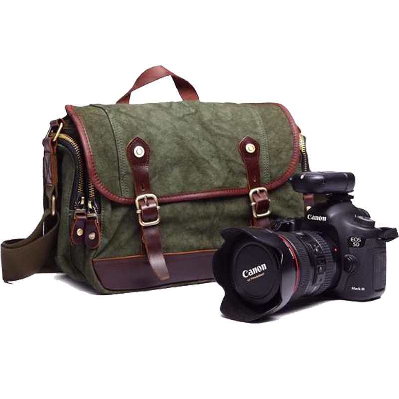 Fashion Canvas Bag High Quality Shoulder Bag Camera Video Bag 8619