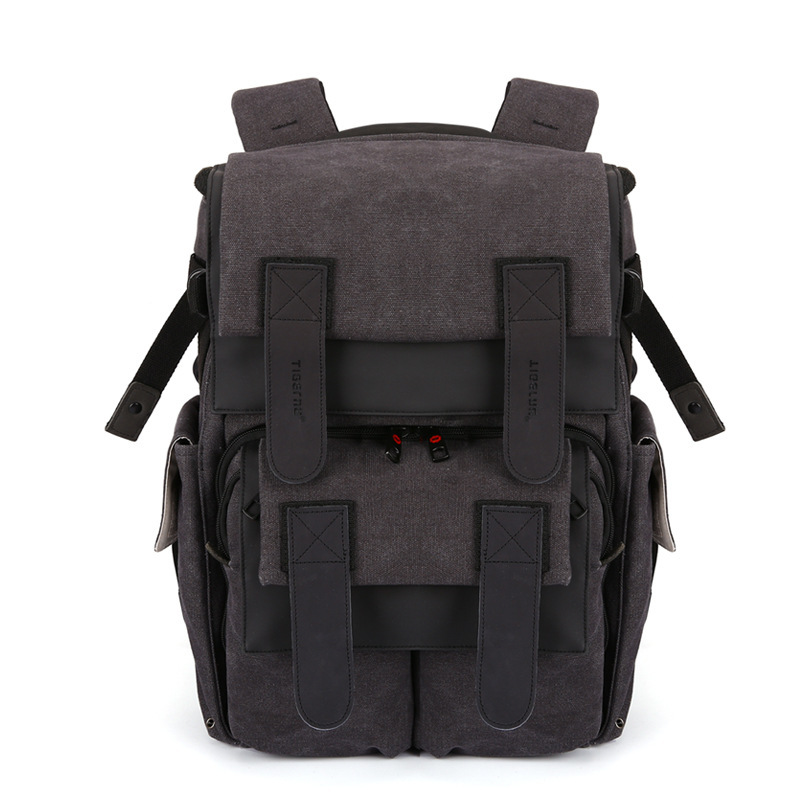 Tigernu Multifunction Canvas Camera Backpack For Women Men