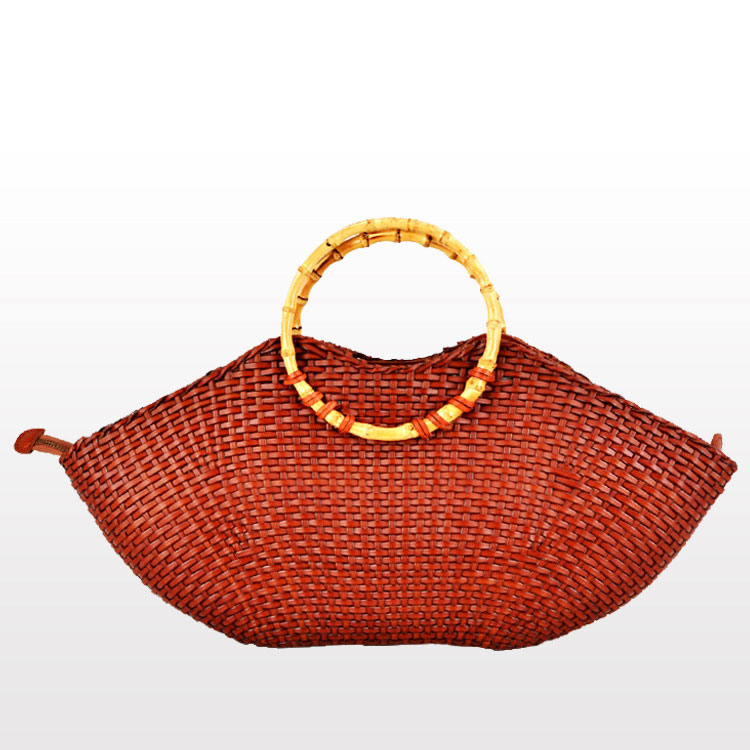 New Lip Shaped Women Hand Bags Calfskin Top Handle Bags