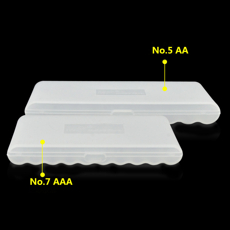 High Quality Matte Battery Storage box for 10xNo.5/No.7 Battery