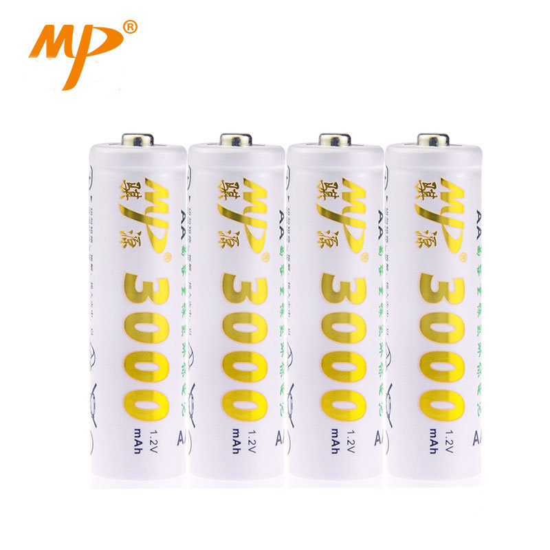 Battery No.5 3000mAh 1.2V Camera Mouse Toys Ni-MH AA3000*4 Rechargeable battery