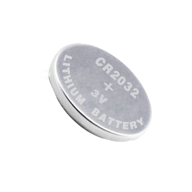 Free shipping Li-ion rechargeable battery CR2032 Button coin cell replace for CR2032 5pcs/card