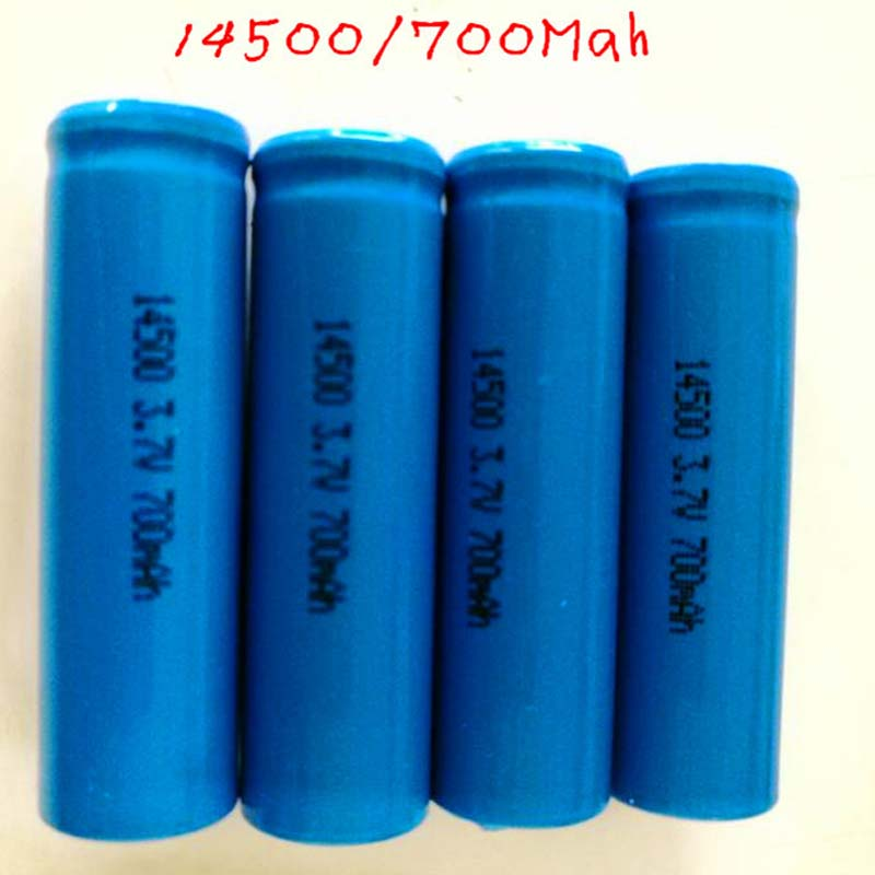 14500 Cylindrical batteries quality lithium batteries 3.7V 700mAh