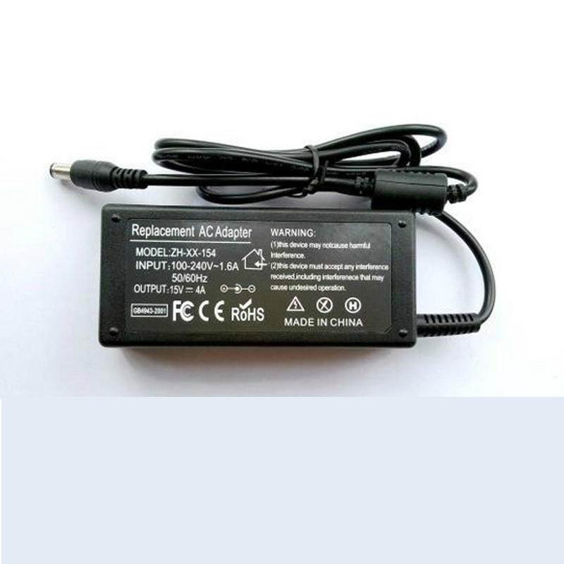 Power Charger Adapter for Toshiba Laptop 15V 4A
