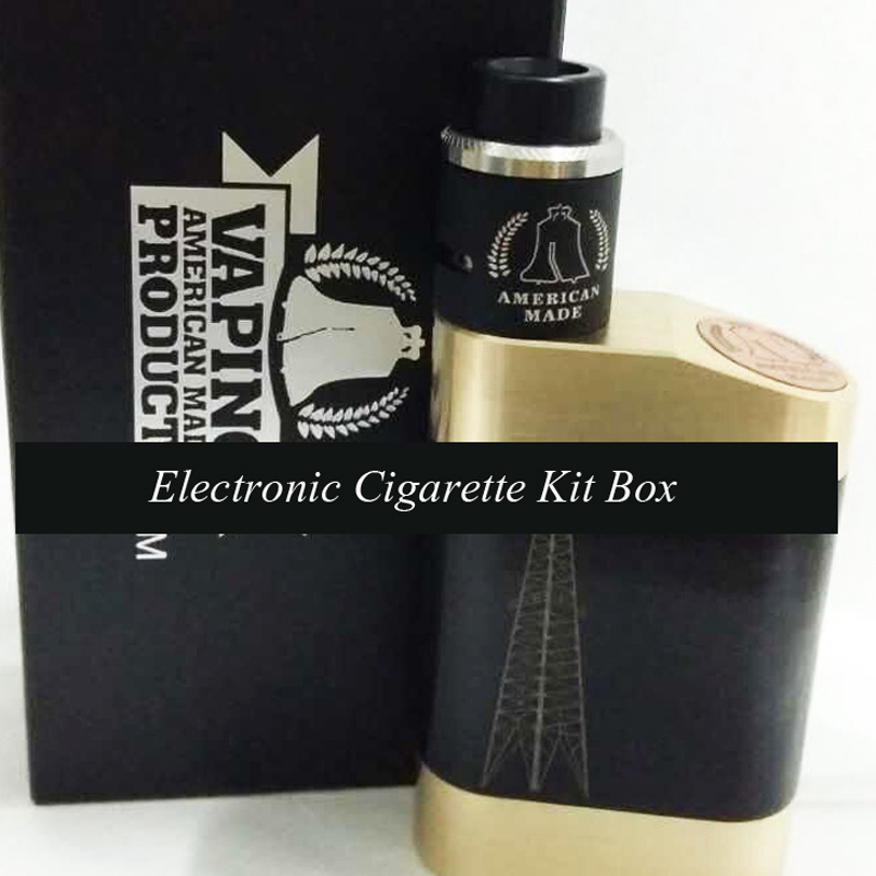 1100mAh Battery 40W Electronic Cigarette Kit Box