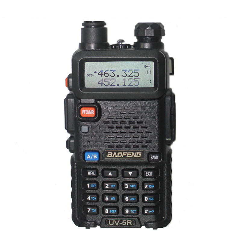 Dual Band Dual Display Walkie Talkie Radio Transceiver