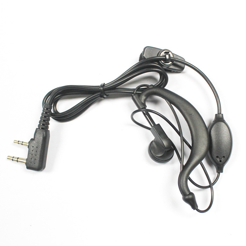 Walkie Talkie Headset 1 pin Acoustic Air Tube Earpiece