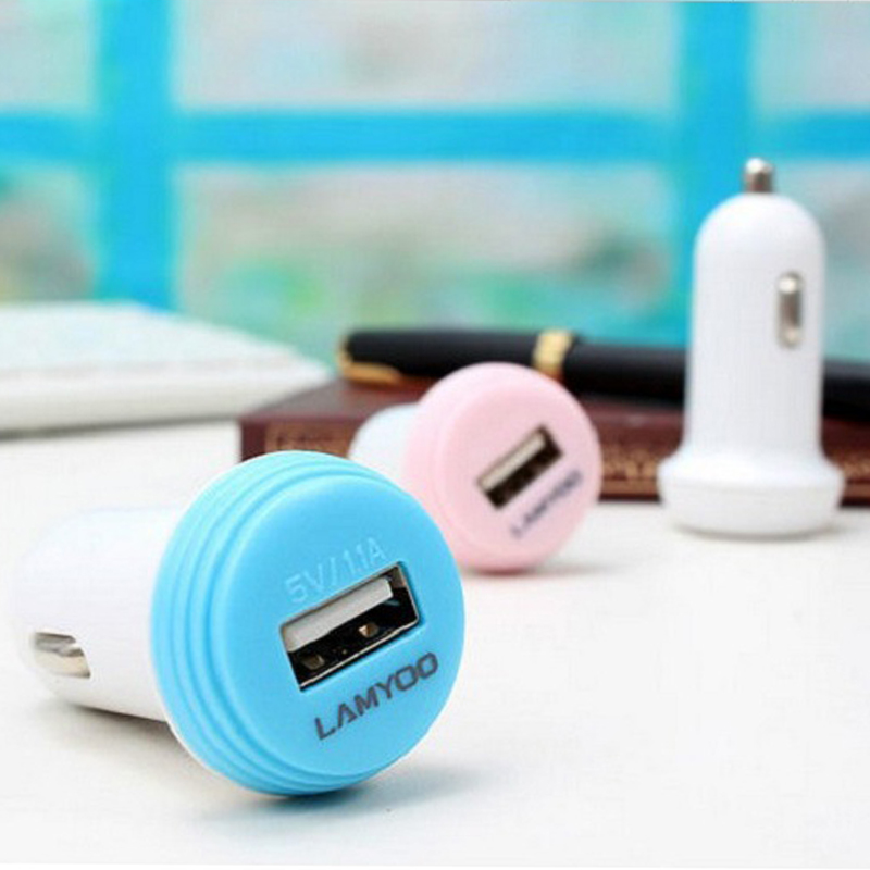 Hot Mini Universal Fast Smart Car-Charger USB Car Charger LY-C21