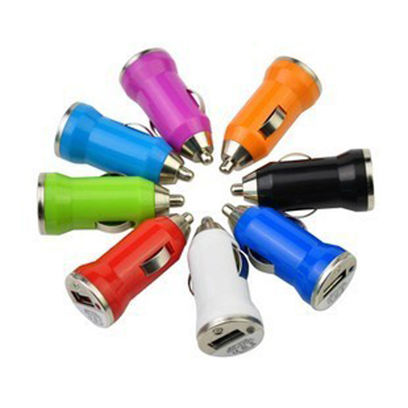 Mini Universal Fast Smart Car Charger USB Car Charger Cigarette Lighter