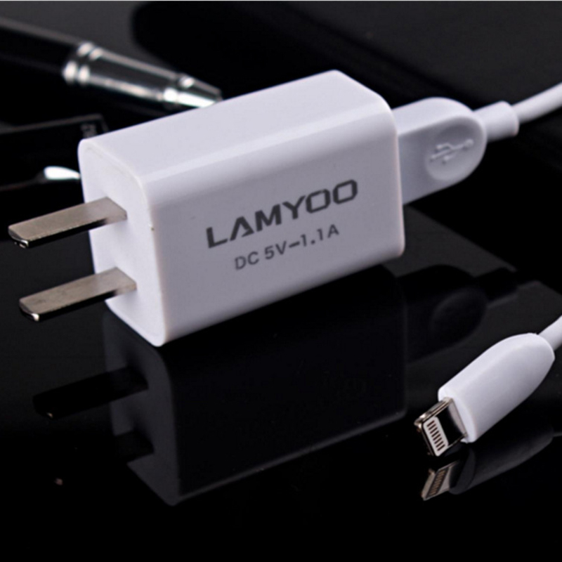 High-speed Transmission USB Power Charger Set Charger Head+Data Cable For IPhone5/6