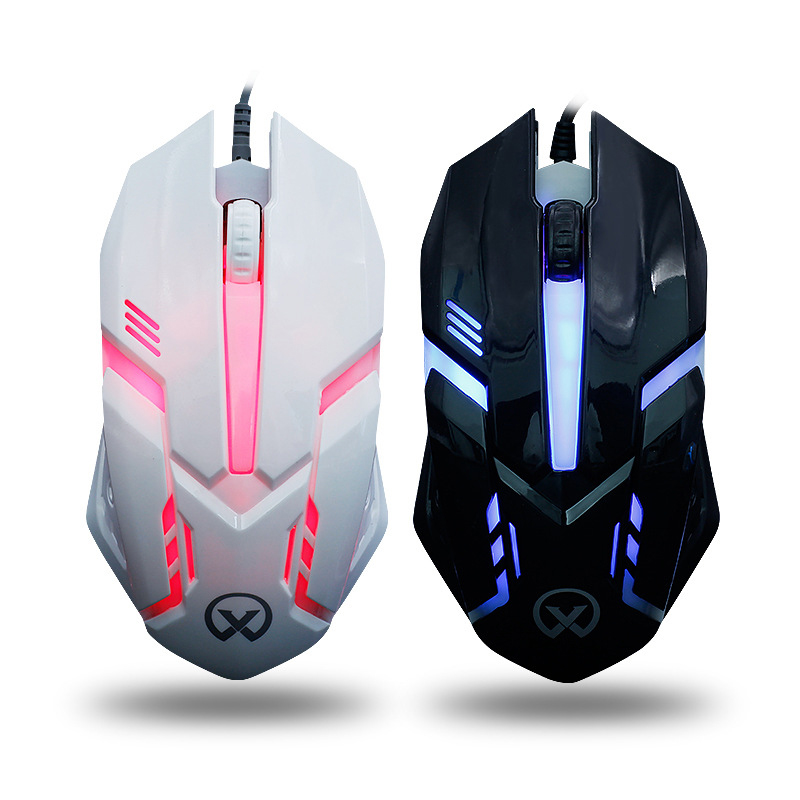 Cool Luminous Gaming Mouse Wired Backlight Mouse For PC Laptop
