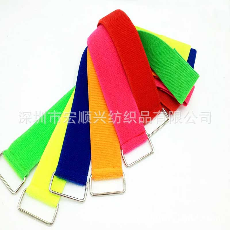 P-shaped Velcro paste tie for Nokia charger line tie perforation Anti-lost magic strap