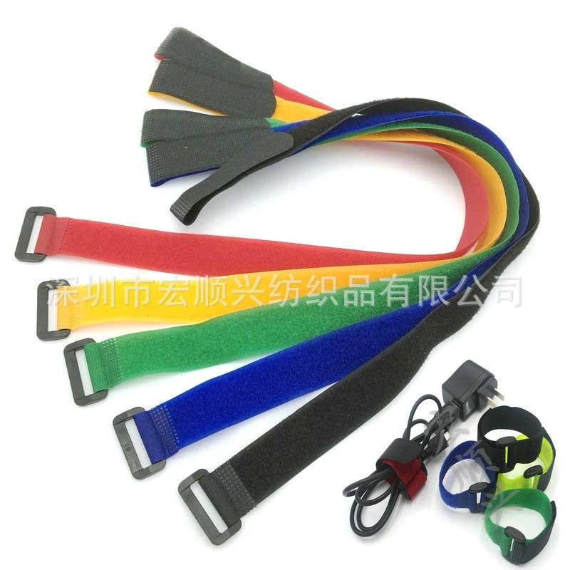 20*500mm wholesale Sticky straps magic paste tie Anti-buckle tie