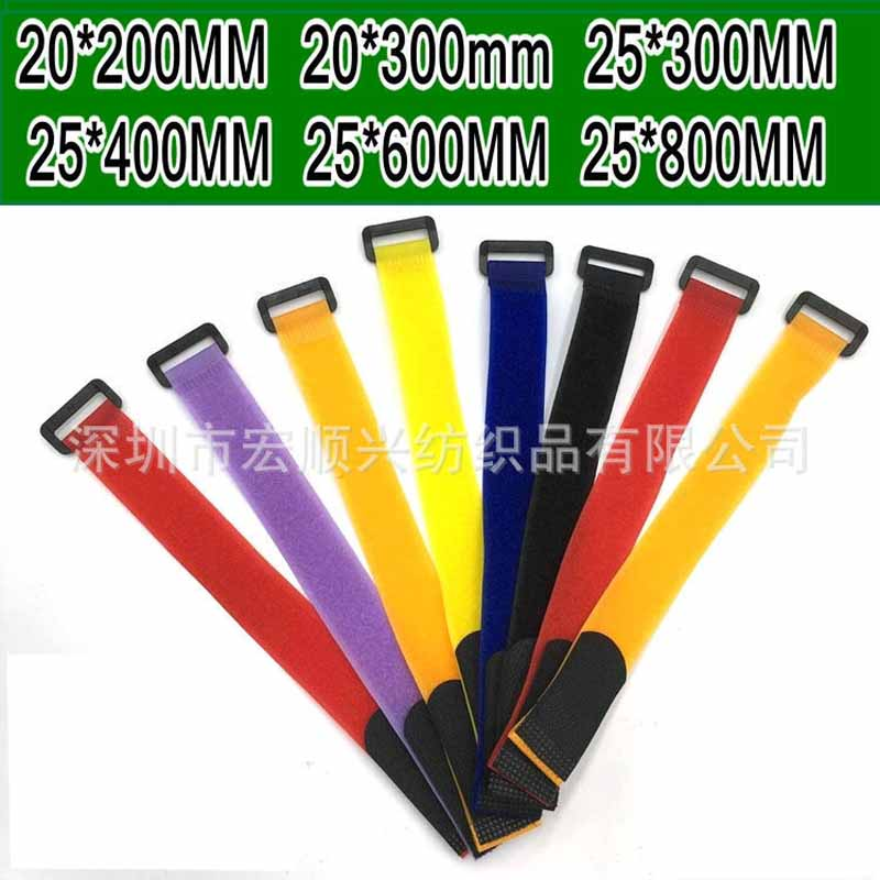 Plastic Buckle straps velcro bandage Aircraft model straps Voltage magic buckle