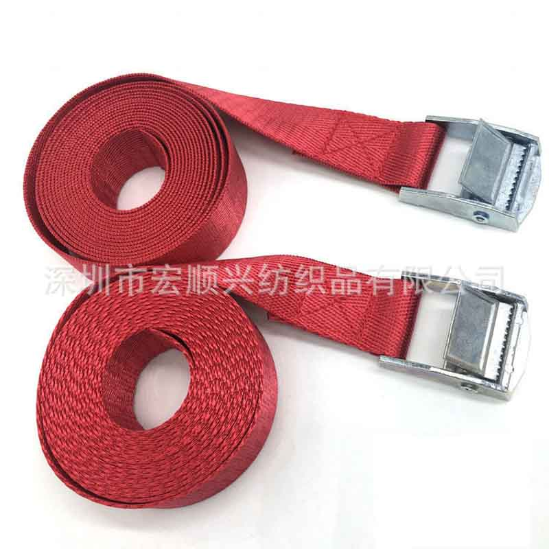 wholesale Zinc alloy buckle goods straps Metal buckle card board straps nylon band