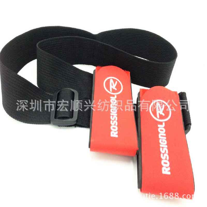Customize Sled strap snowboard hand strap with logo  magic paste EVA bandage