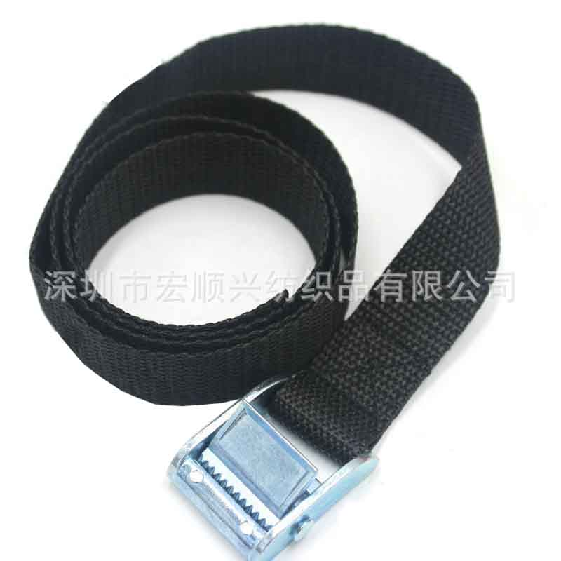 Supply goods fastened bandage Zinc alloy buckle webbing straps tightening buckle straps