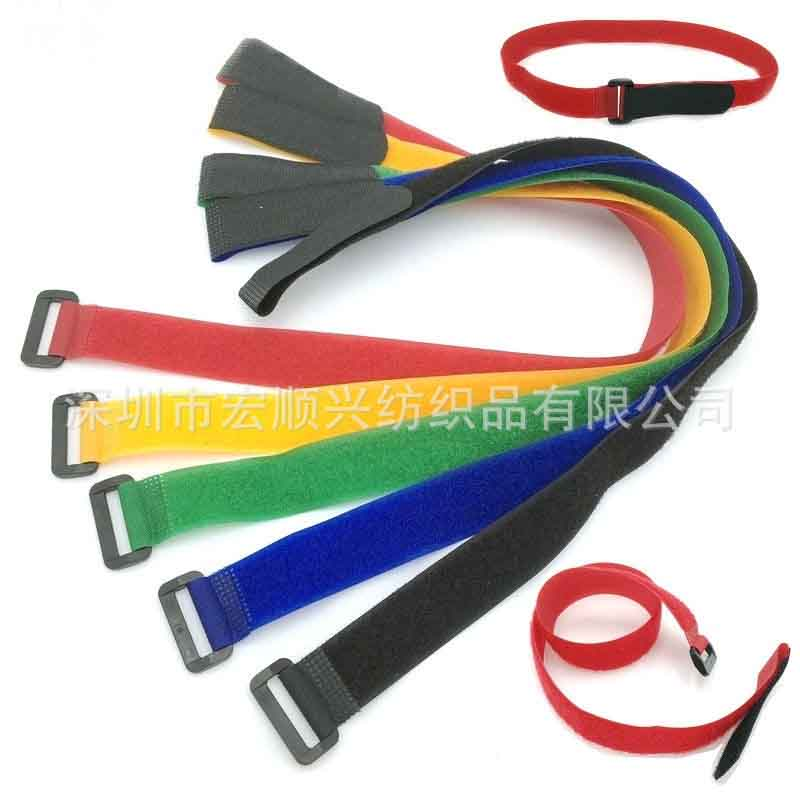 Model buckle velcro flying battery model tie bandle band magic paste strap