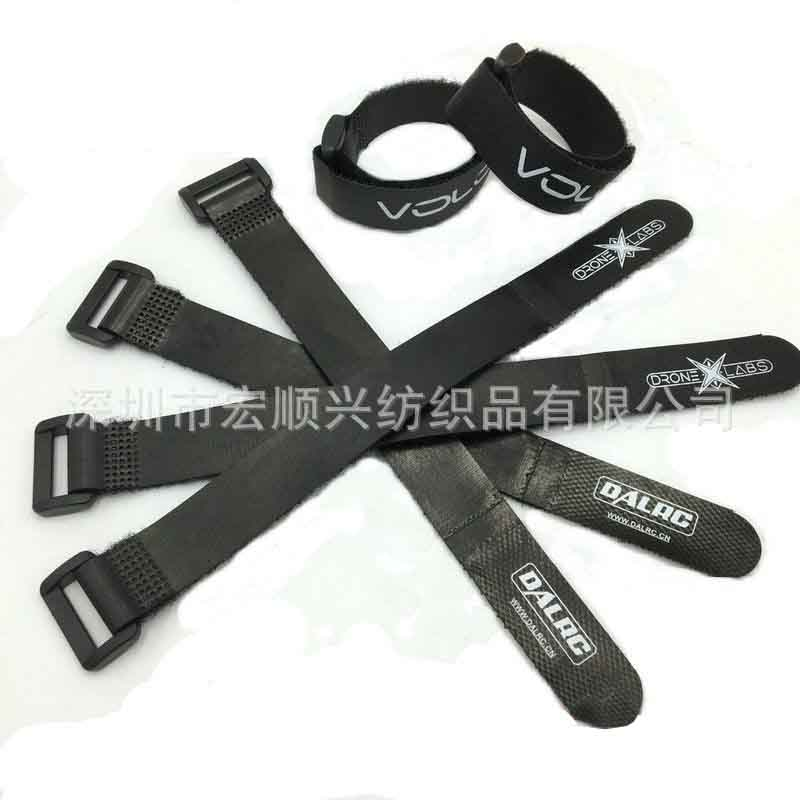 High quality velcro airplane model battery strap bandage with logo wholesale