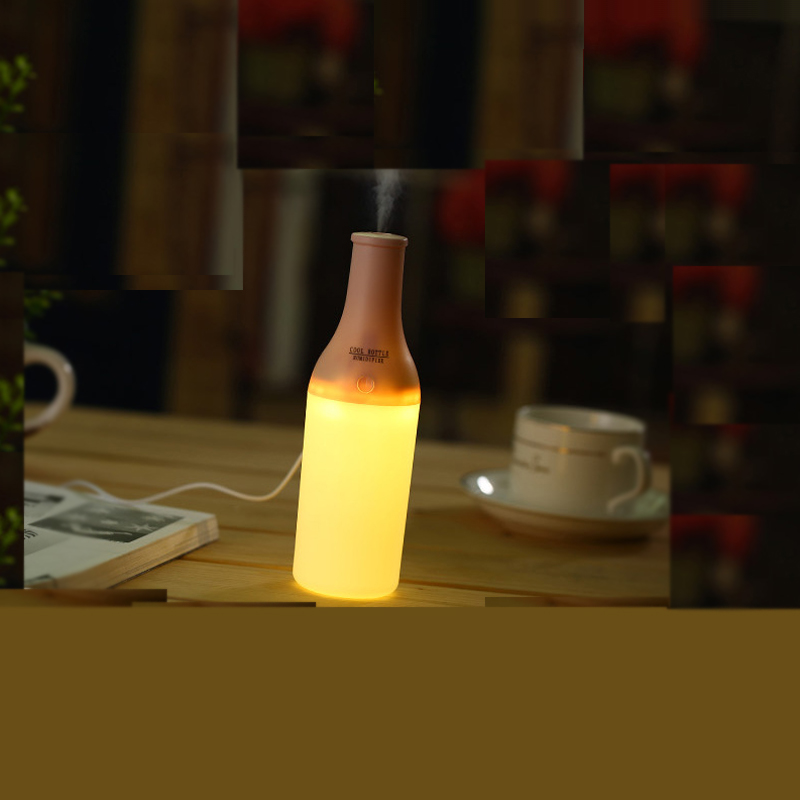 Wine Bottle Shape Humidifier Air USB Water Atomization Humidifier WT2022