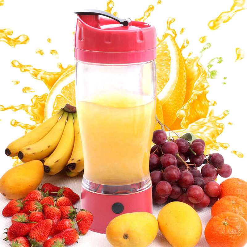 New Style Creative Automatic Mixed Fruit Cup Water Bottle