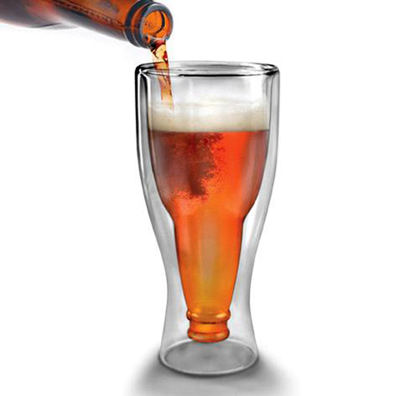 High Quality Household Creative Design Beer Glass Cup