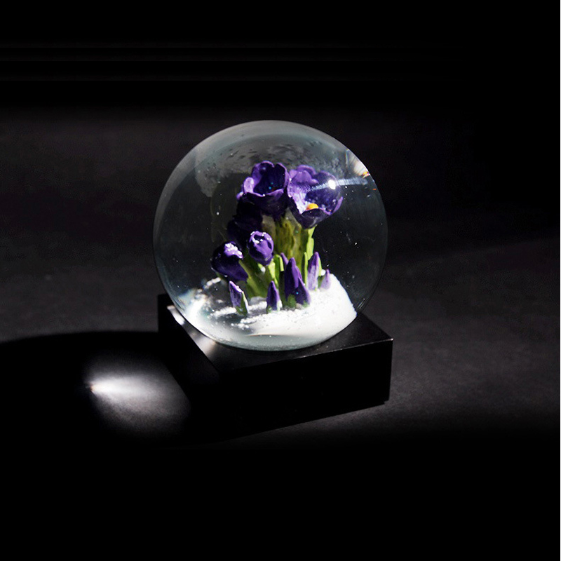 Creative Home Decorations Forever Love Glass Gifts Crystal Ball