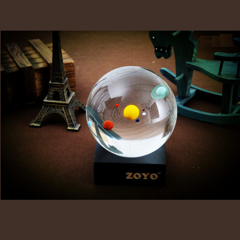 Hot sale Household Decorations Glass Gifts Celestial Crystal Ball A1d5e
