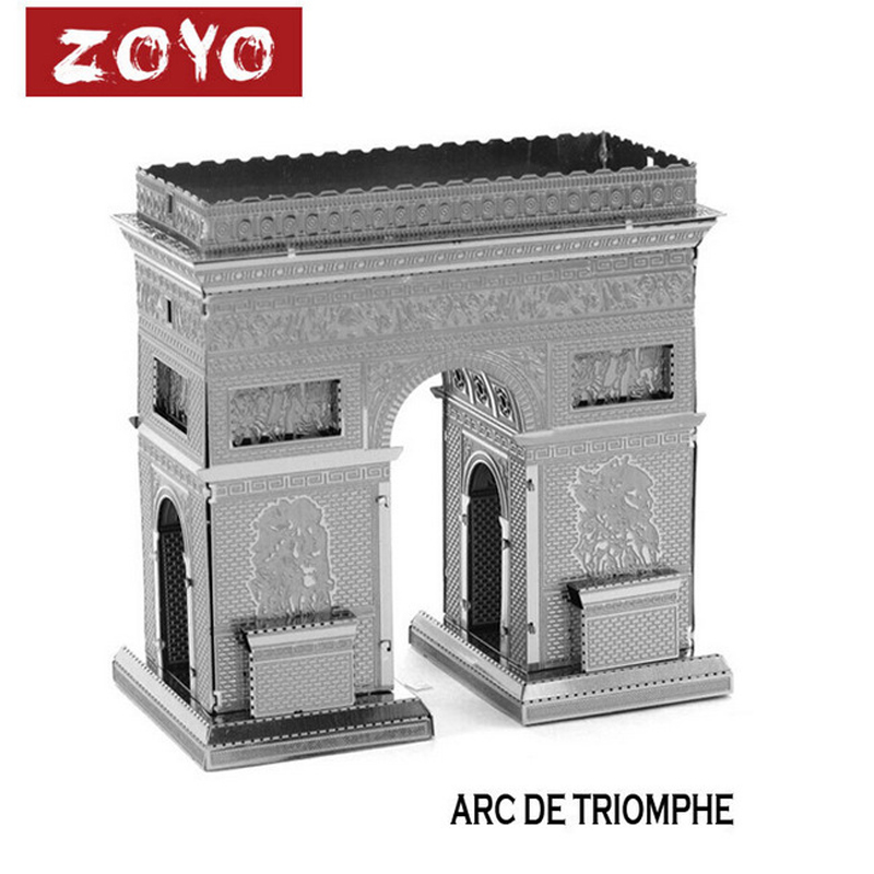 Metal Arch of Triumph 3D Puzzle Vessel Educational Toys For Kids