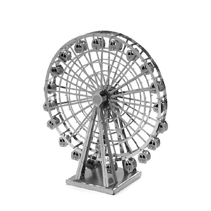 Creative Metal Ferris Wheel 3D Puzzle Vessel Educational Toys For Kids AGES16