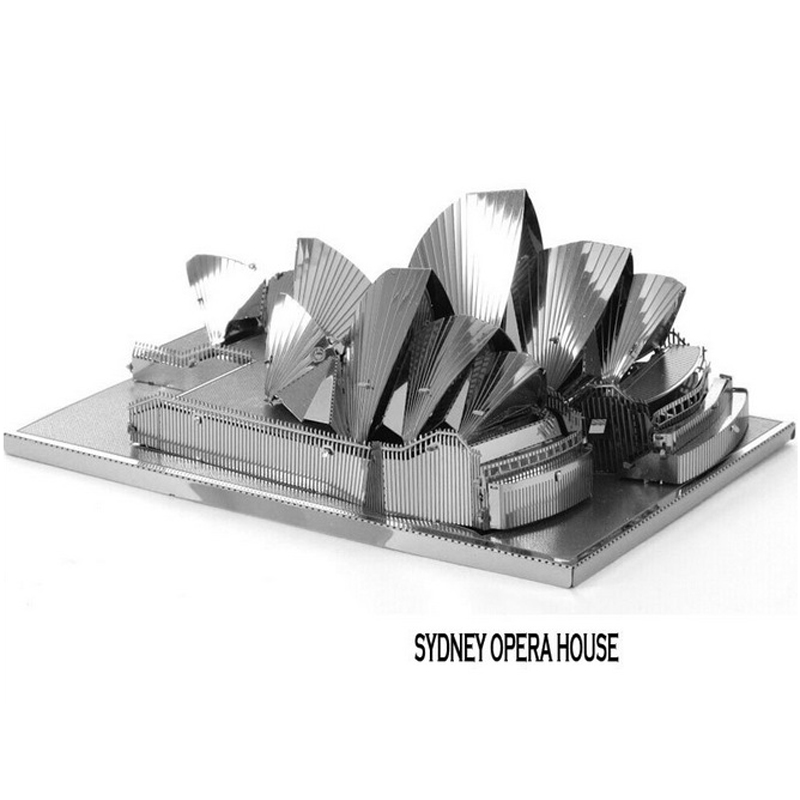 Miniature 3D Sydney Opera House Puzzle Vessel Castle Educational Toys