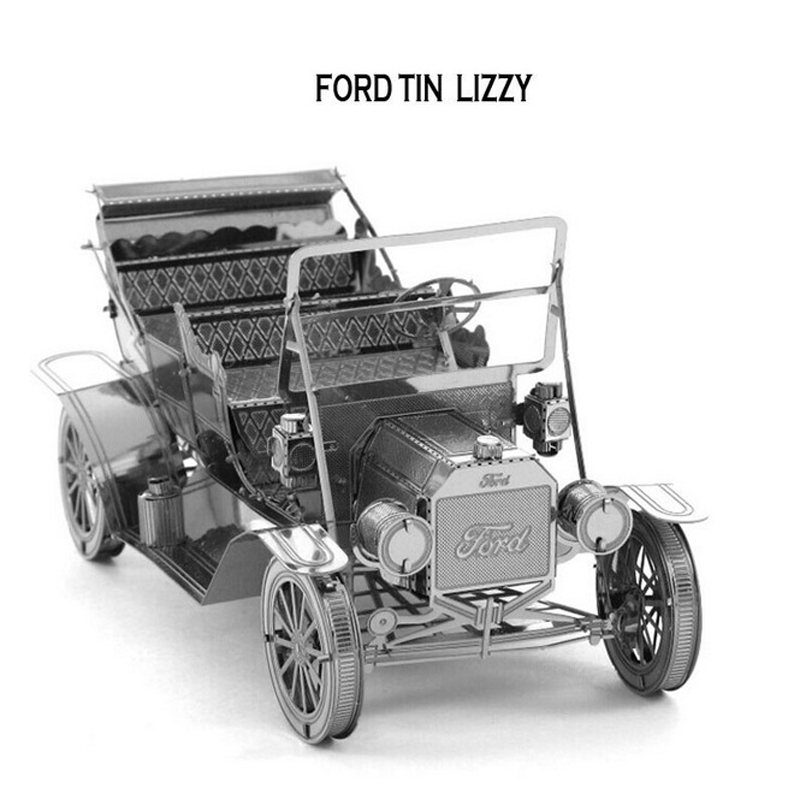 New Arrival 3D Ford Tin Lizzy Puzzle Vessel Metal Educational Toys