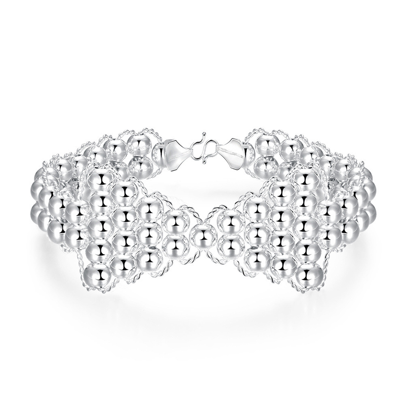 Luxury Beautiful Bowknot Charm Bracelets For Women