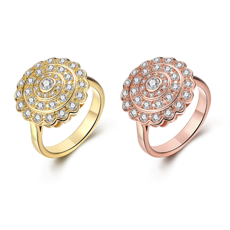 Luxury Noble Diamond Rings For Women