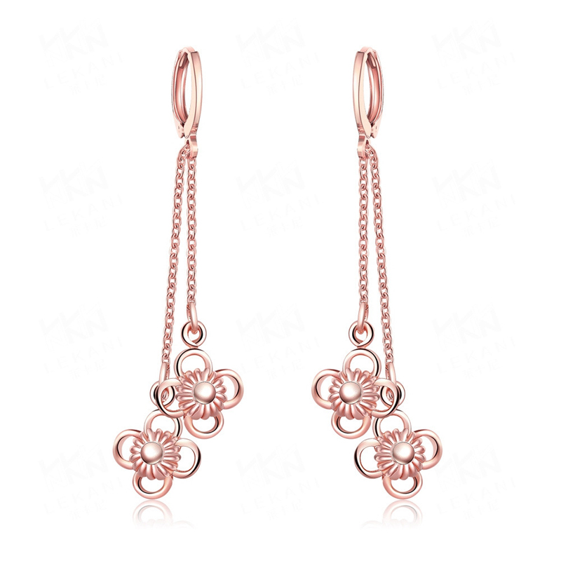 Flower Luxury Beautiful Earrings For Women