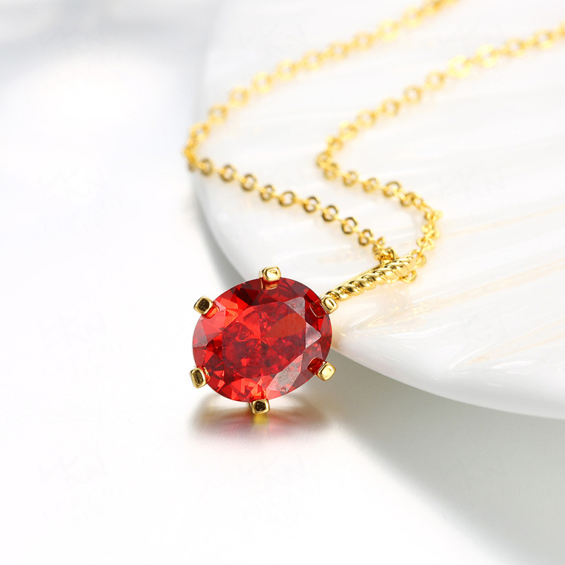 Cute Tortoise Shaped With Big Crystal Pendant Necklace For Women