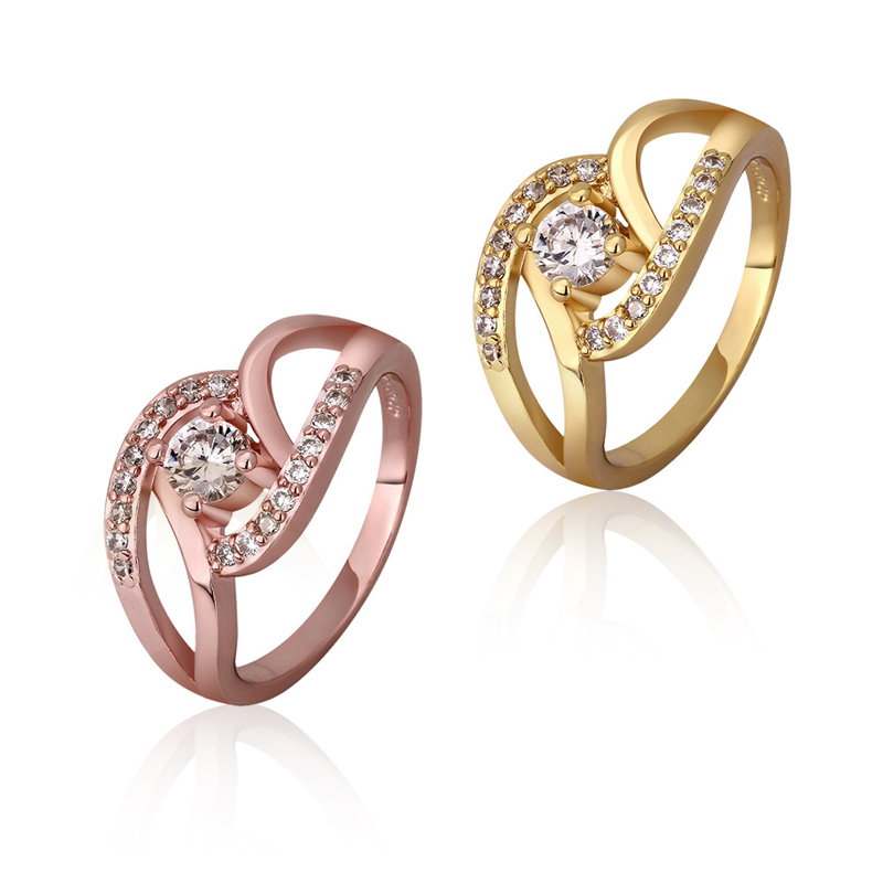 Fashion Beautiful High Quality Zirconia Rings For Women