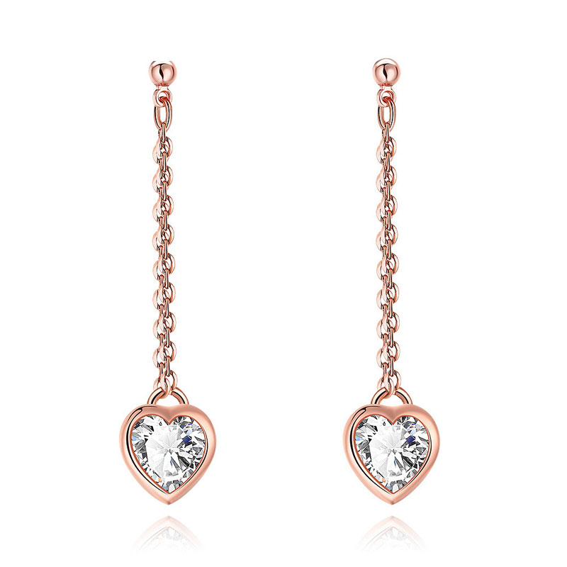 New Fashion Jewelry Free Antiallergic Real Gold Plated Earrings For   Women
