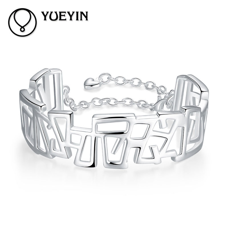 Fashion Bracelets 925 Sterling Silve For Women Inlay Zircon Bracelet Jewelry