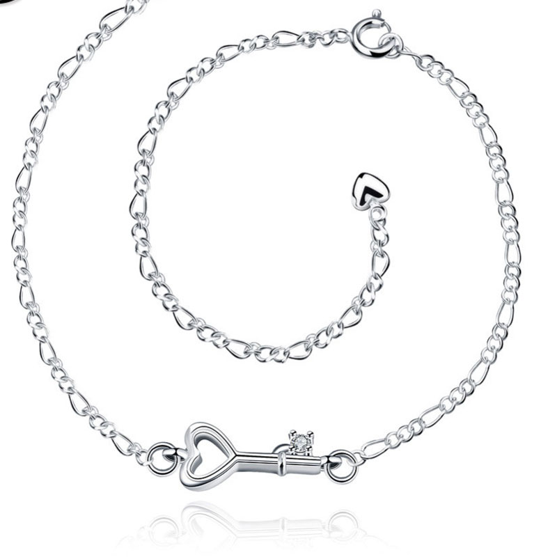 Hot Sale Gift Anklet 925 Sterling Silver Fashion Jewelry Anklet For Women Jewelry